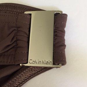 Calvin Klein Swim - Calvin Klein dark brown bikini set M